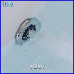 Whirlpool Spa Shower Jacuzzis Massage Straight 2 person Double Bathtub 1700800