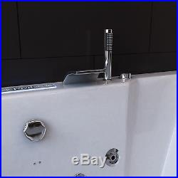 Whirlpool Systm Massage Relaxing Rectangle Shower Spa 1700 Jacuzzis Bathtub