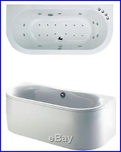 White Trojan Decadence Twin Ended 24 Jet Doube Ended Whirlpool Jacuzzi Spa Bath