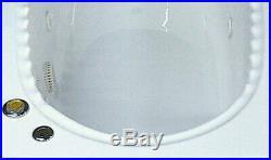 Xd Rare Traditional Adamzez 1700 x 800 Extra Deep Scallop 6 Jet Whirlpool Bath
